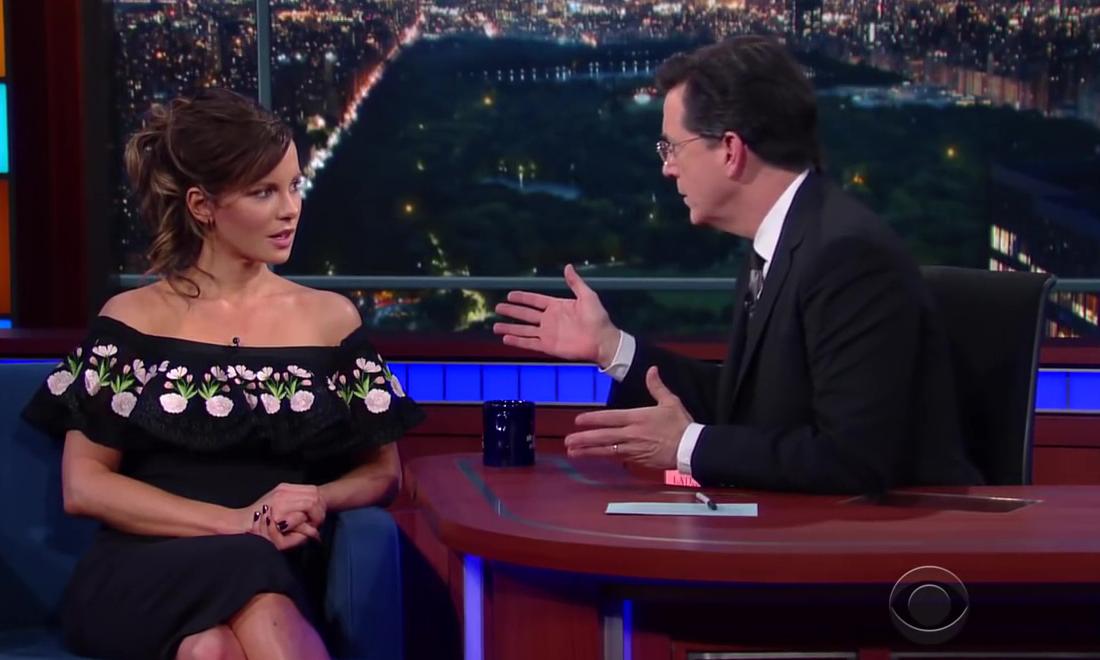Stephen Colbert: Unknown Jane Austen Novels With Kate Beckinsale