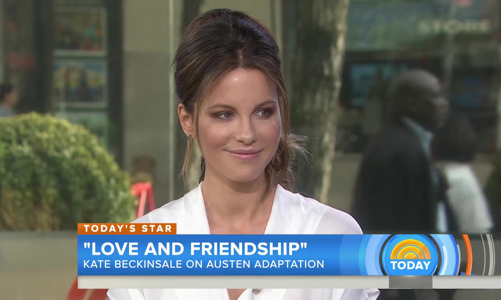 TODAY: Kate Beckinsale On 'Love & Friendship,' Reuniting With Chloë Sevigny