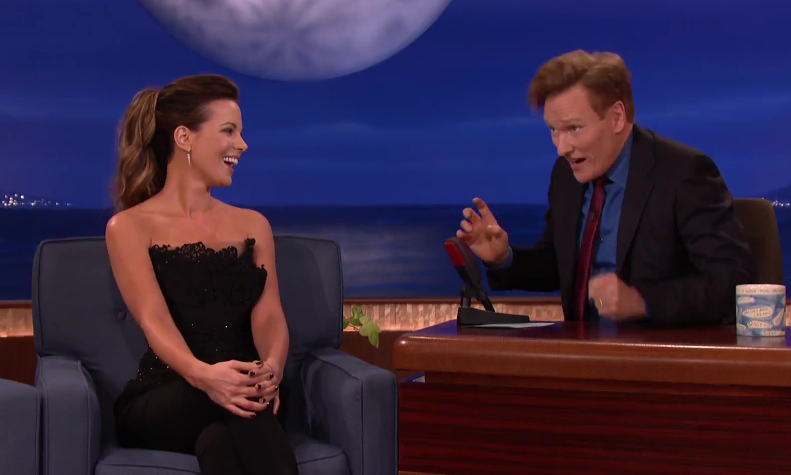 CONAN | Kate Beckinsale: Transvaginal Mesh Helped My American Accent