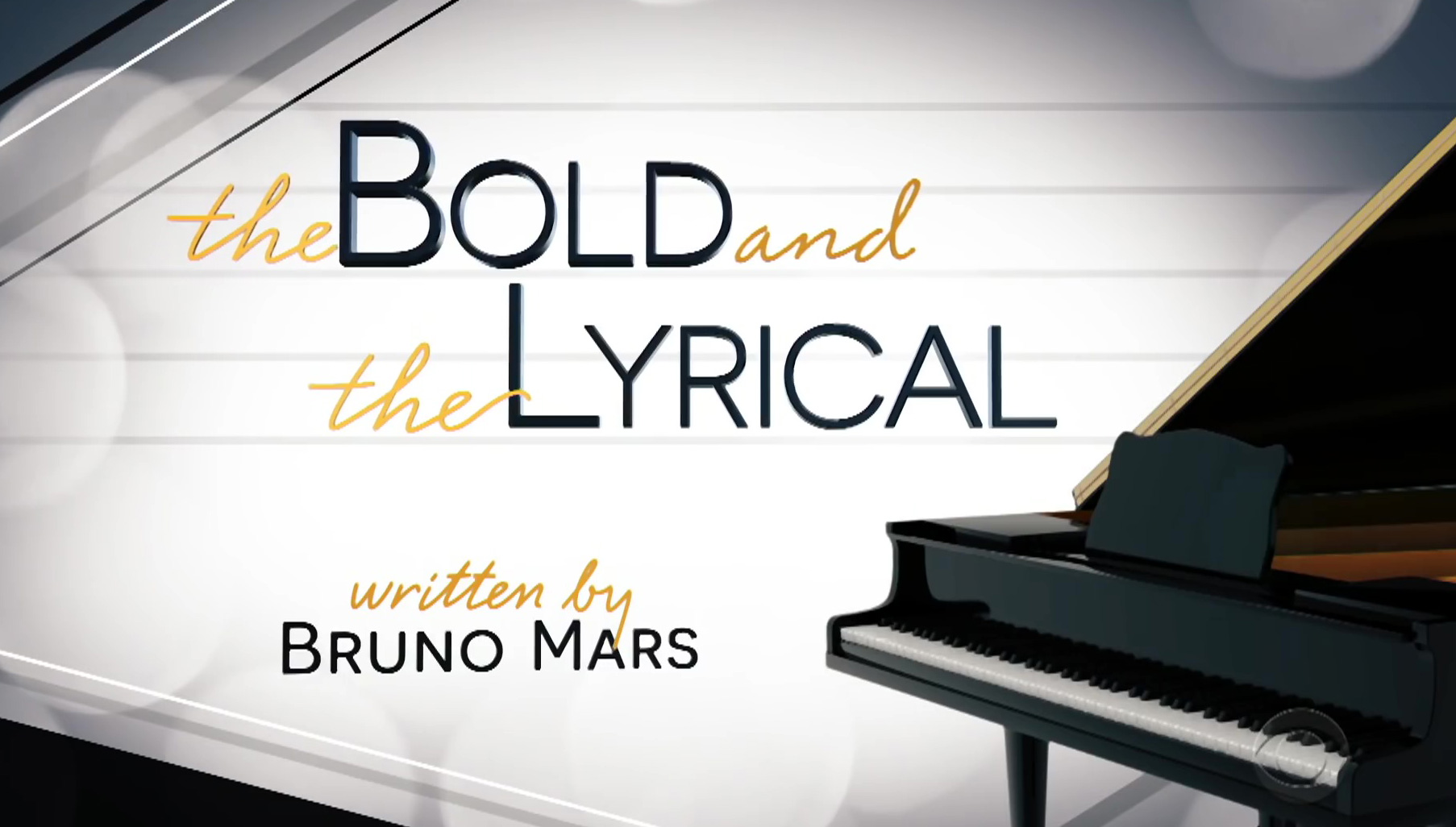 Bruno Mars Soap Opera w/ Kate Beckinsale & Milo Ventimiglia