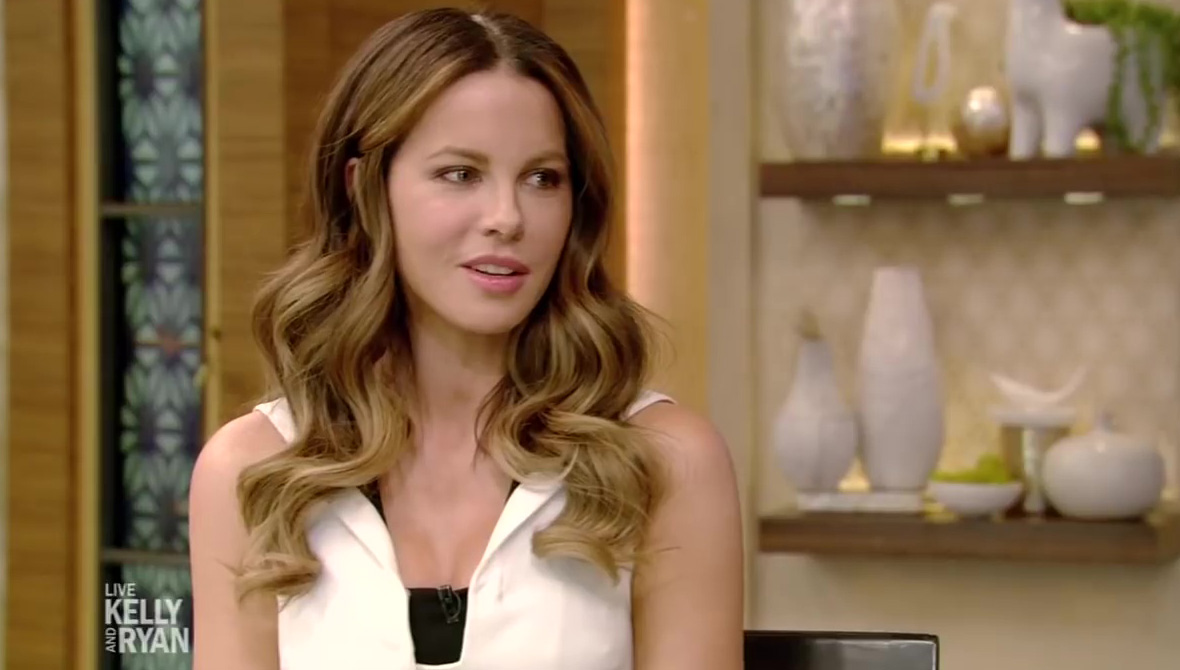 Live with Kelly and Ryan: Kate Beckinsale
