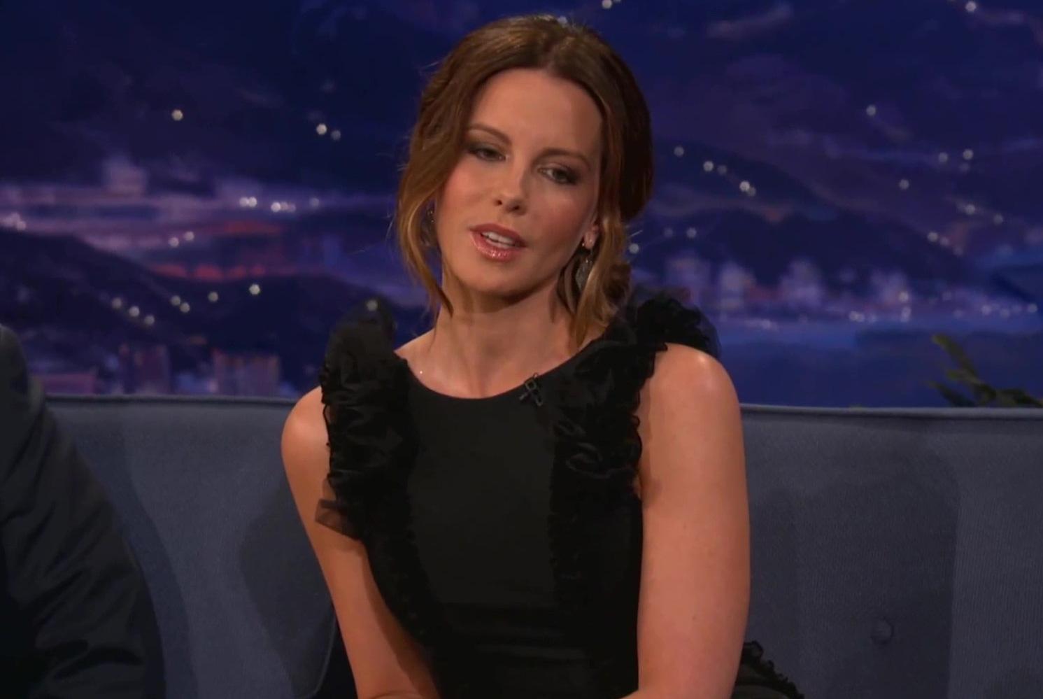 "CONAN | Kate Beckinsale's Wild Night With ""Reverend Balls"""