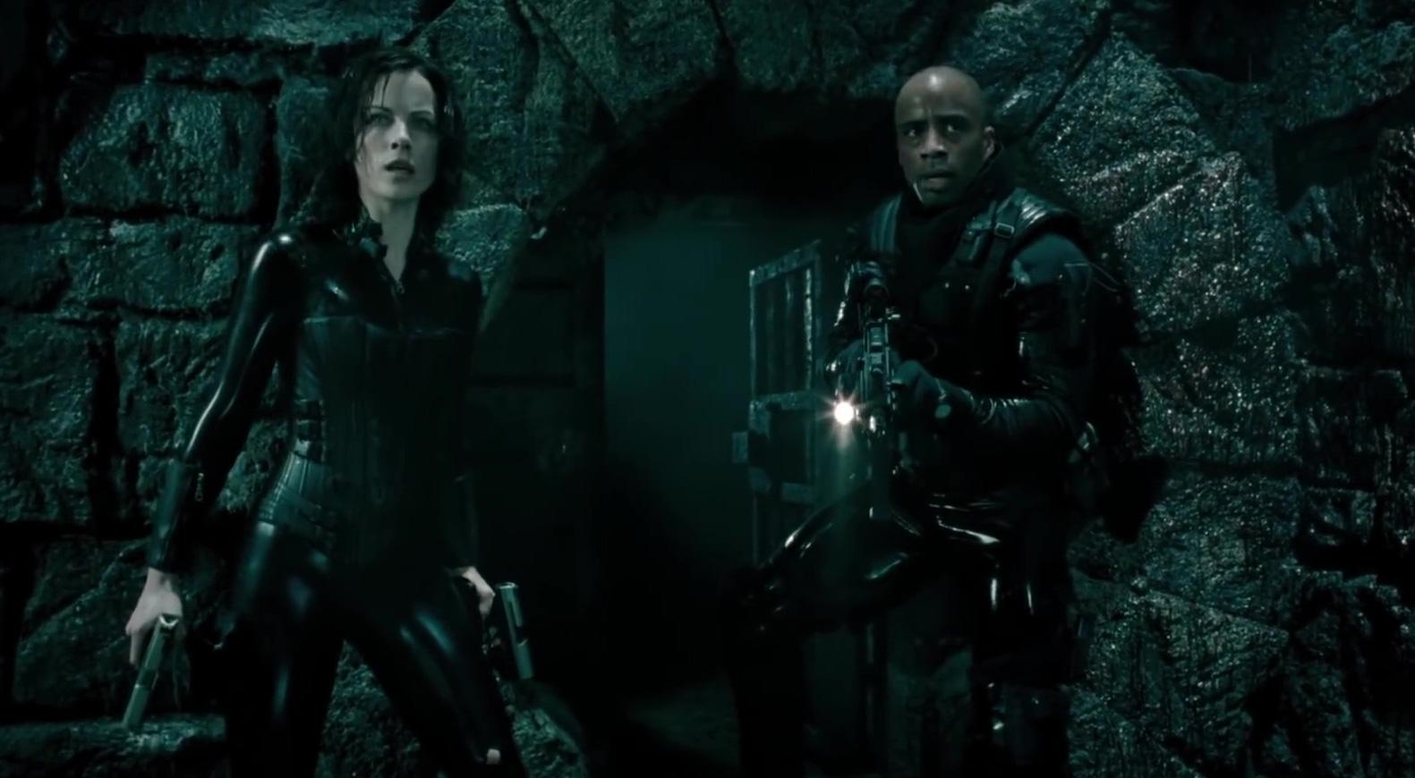 Underworld: Evolution CLIP – Selene vs. William